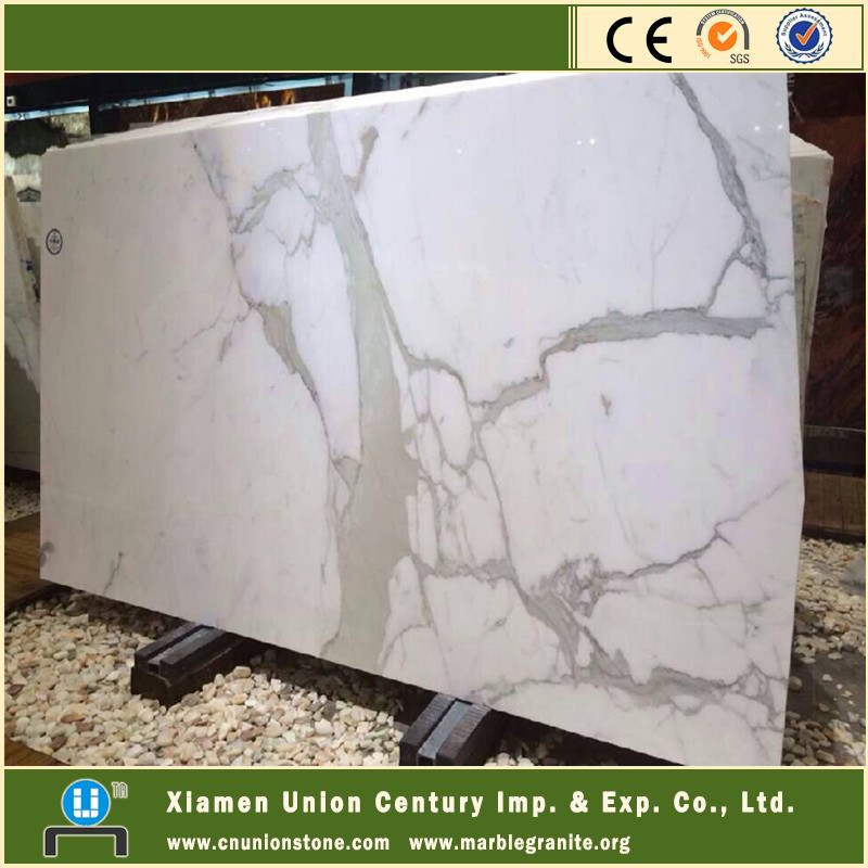 Italian carrara statuario white marble slab price