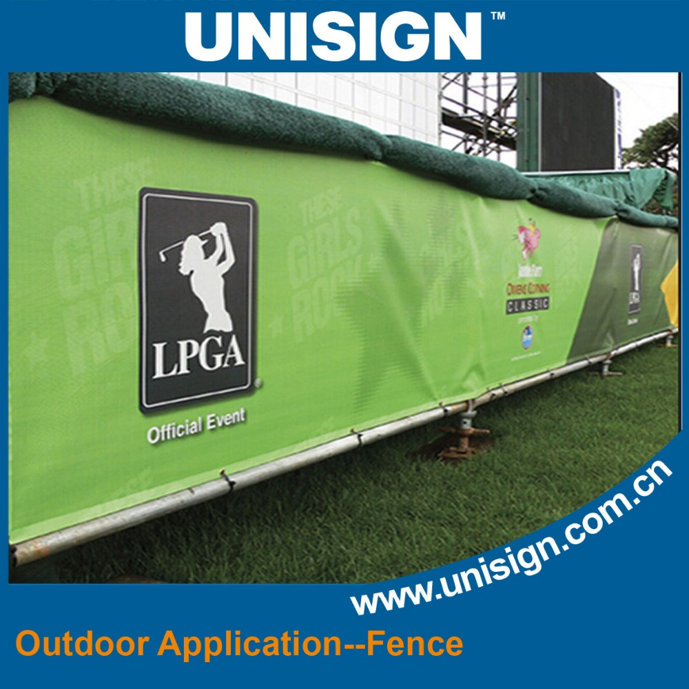 Unisign Roll Eco-solvent Outdoor PVC Coated Mesh Banner Printing