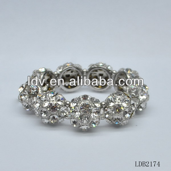 Ally express china wholesale Mother`s day gift crystal circle flower bracelet