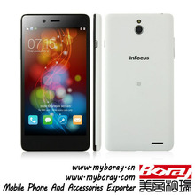InFocus M512 gsm+ cdma super slim body ultra slim small smallest touch screen small and thin cellphone