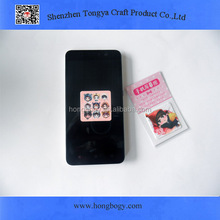 Personalized custom sticky phone screen cleaner