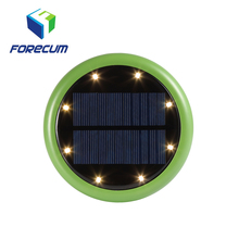 2018 New Outdoor Waterproof Solar Power Underground 8 Led Garden Decoration Lights Solar Lawn Light