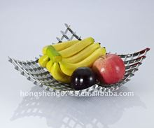 2011 new design stainless steel fruit dish