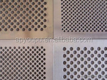 Square/round holes perforated metal mesh/stainless steel/galvanized sheet made in China