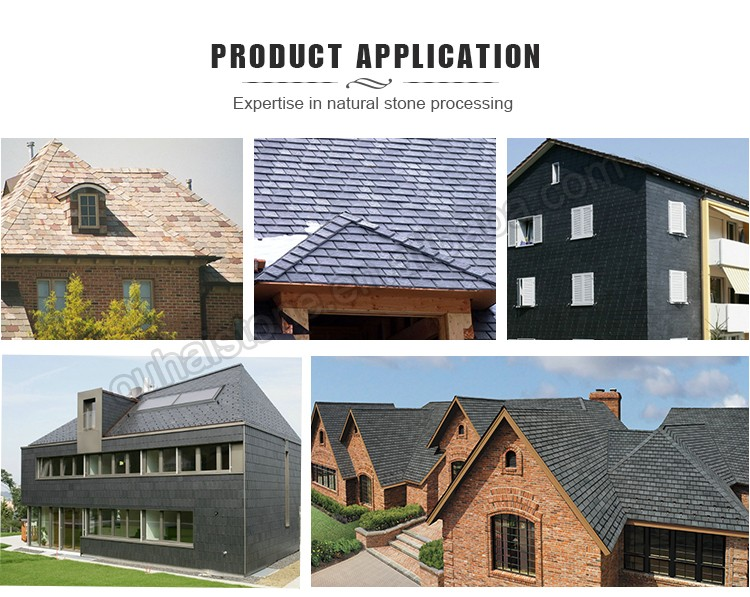Simple design natural slate lowes roofing shingles prices