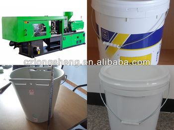 10L bucket plastic injection machine