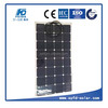 100w 12v semi-flexible solar panel for Boat or Golf cars