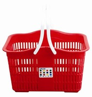 Plastic Household Essentials Laundry Basket with Handles
