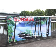 Outdoor advertising banner digital printing pvc flex banner for the New Year