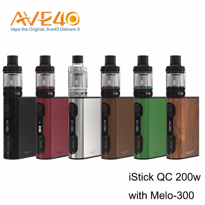 Wholesale 100% Original Mod Eleaf iStick QC 200W TC iSmoka Eleaf iStick 200 Watt QC