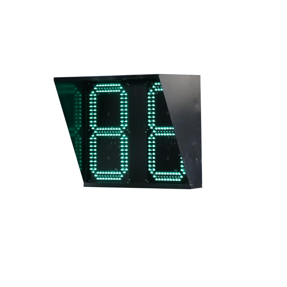 Factory warning light led traffic countdown timer for sale
