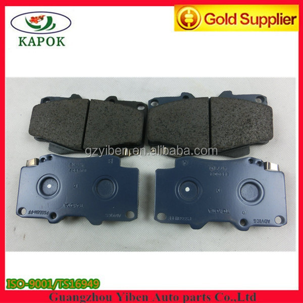 Deisel parts 04465-0K020 brake pad for TOYOTA Hilux Vigo 4WD