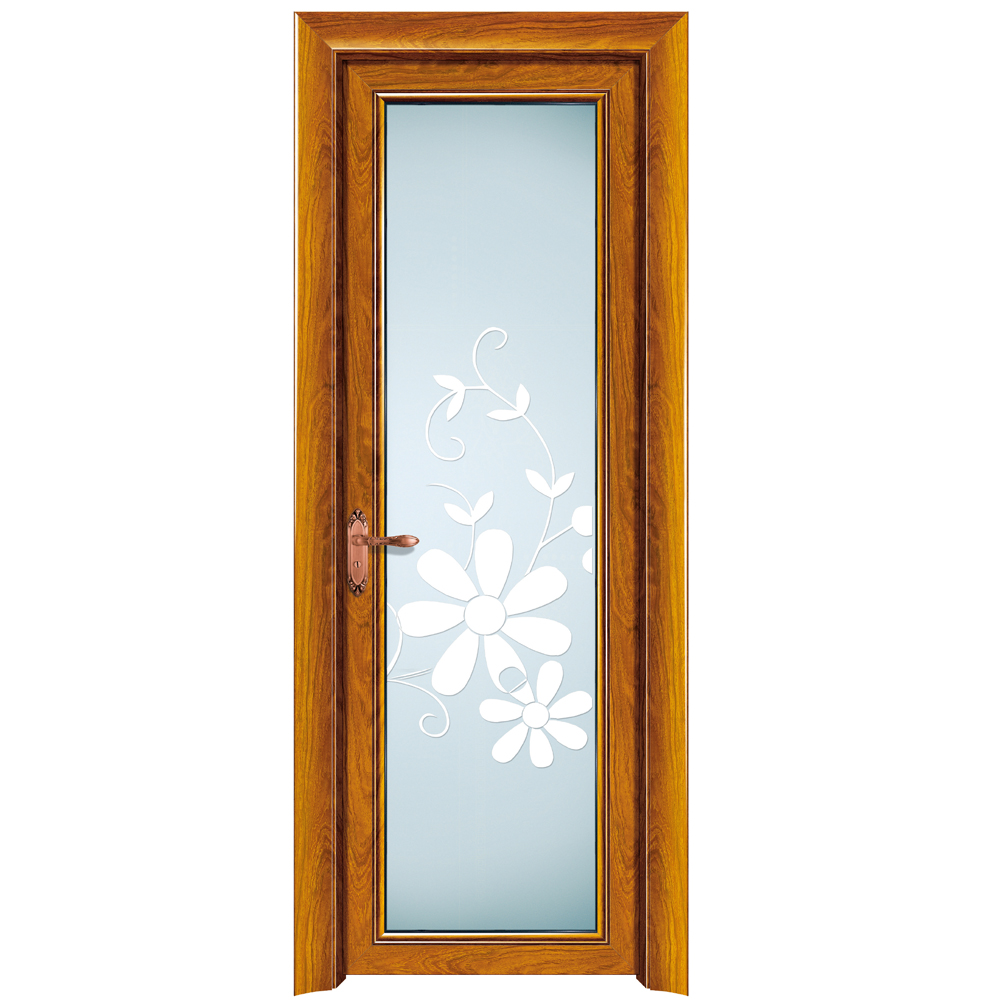 HS-JY9004 modern waterproof bathroom fiberglass door skin