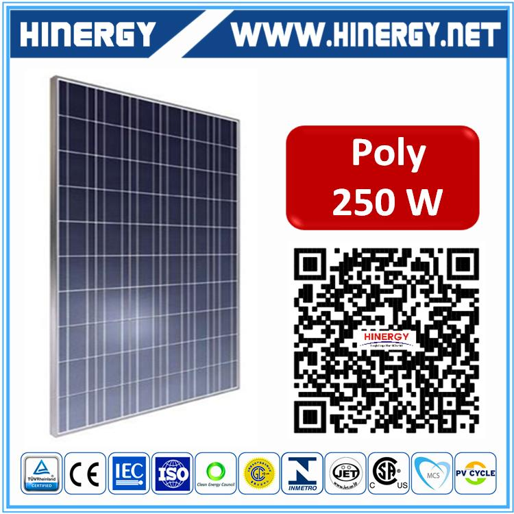 250w poly solar panels 250w photovoltaic solar panel high efficiency flexible 250w polycrystalline silicon solar panel