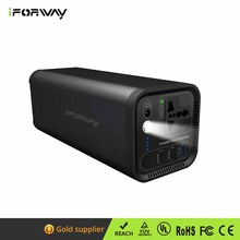 Reliable Power Solutions 120W AC Power Charger 41600mAh Lithium Battery Portable Solar Generators