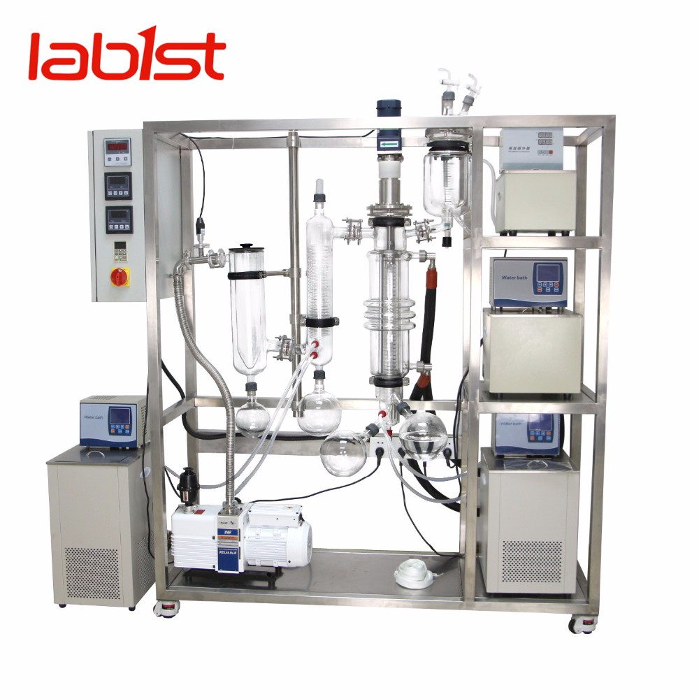 High quality wiped film evaporator for molecular distillation