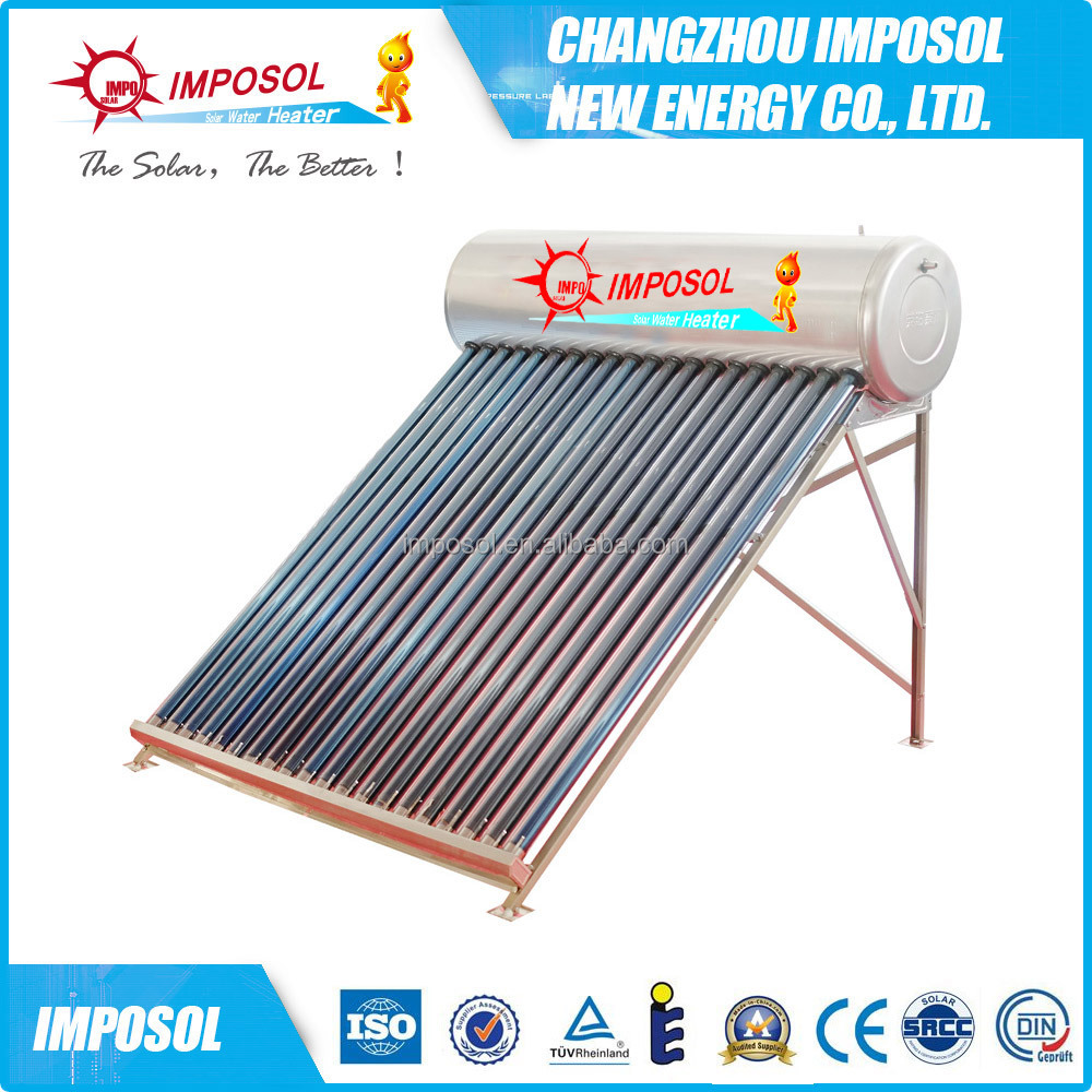 Solar power water heater machinery