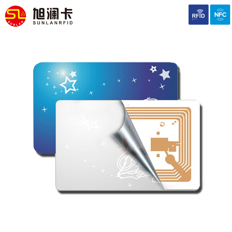 Hot sale contactless EM4102 125Khz rfid smart card