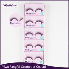 10 pairs cheap wholesale express eyelash extension,new design false eyelash eyebrow false