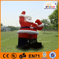 Hot New Design Inflatable Christmas Lovely Santa Claus Xmas Father