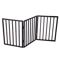 Wood pet gate Dog gate,pet retractable safety gate