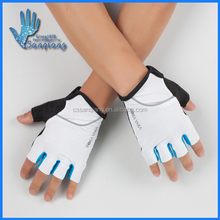 2017 New products best price white color fingerless mountain bike riding outdoor motorcycle sports gloves