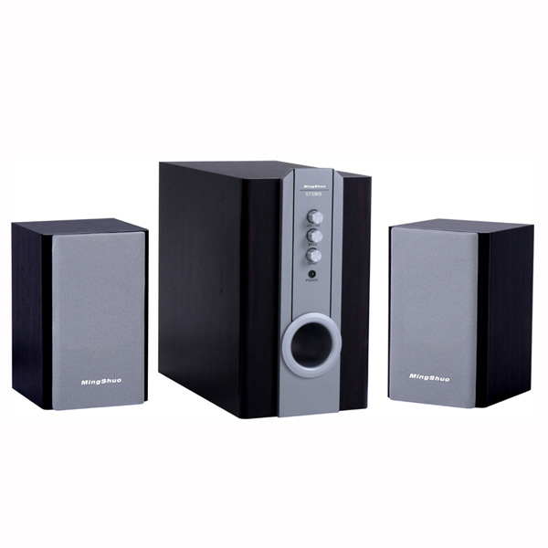 Hot compact subwoofer 2.1ch multimedia speakers