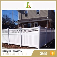 Lifetime Warranty Material PVC Vinyl Privacy Fence