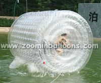 latest crazy inflatable games inflatable water rolling ball WB05