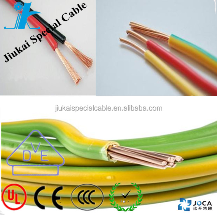 Best price 1.5mm2 2.5mm2 electrical wire copper wire BVR flexible cable