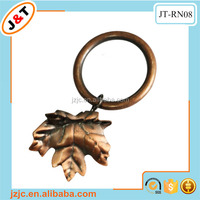 interlocking curtain metal eyelet rings decorative clips for window curtain rod set