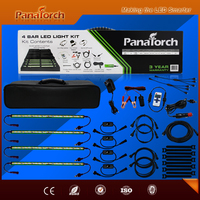 New PanaTorch 4 bar Led light kit for 4WD camping car-1920 Lumens