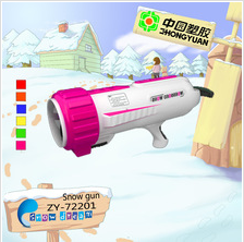 Baby toy plastic winter snow shooting gun