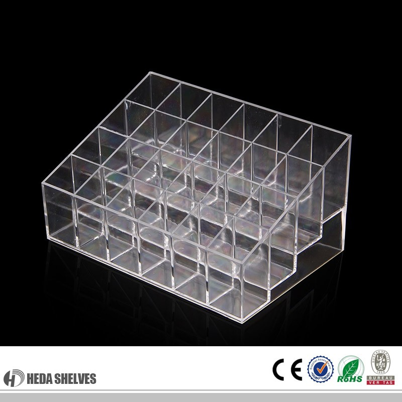 fashional acrylic comestic display stand/case
