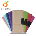 wholesale price leather phone cover case card holder