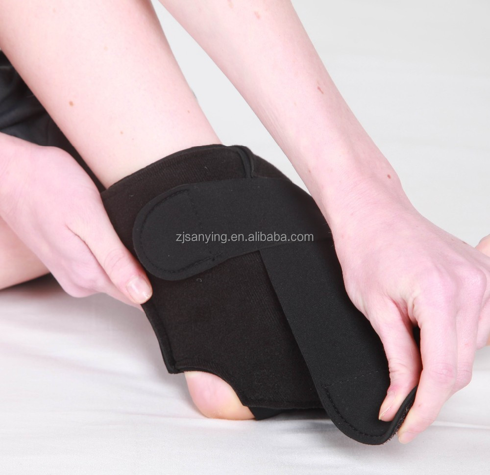 Flexible Ice Pack with Wrap for Hot & Cold Therapy