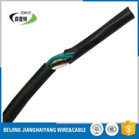 copper core pvc insulated flexible cable rvv video cables