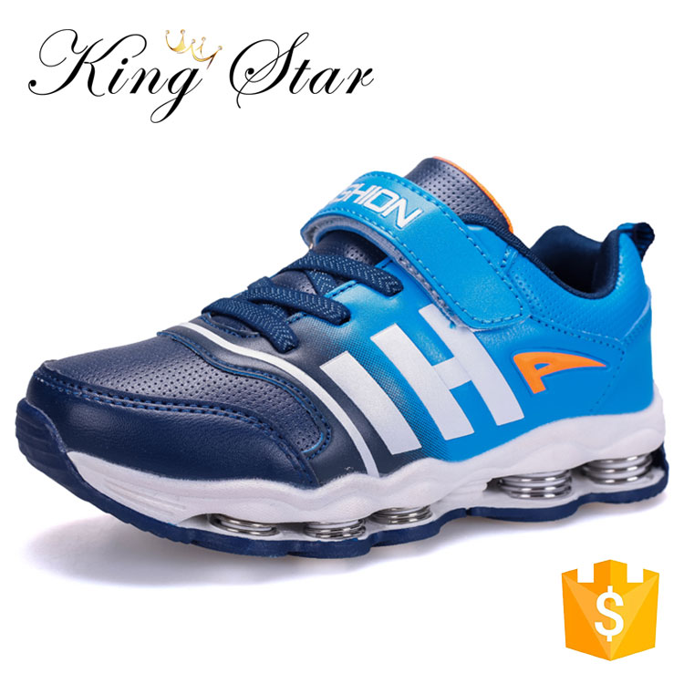 China Kids Sport Shoes Fashion Spring Jumping Shoes School Sport Boys Shoes Kids Breathable Running Sneakers For Sale