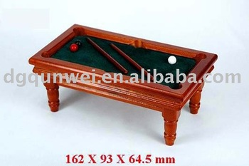 Dollhouse Mini Billiard Table