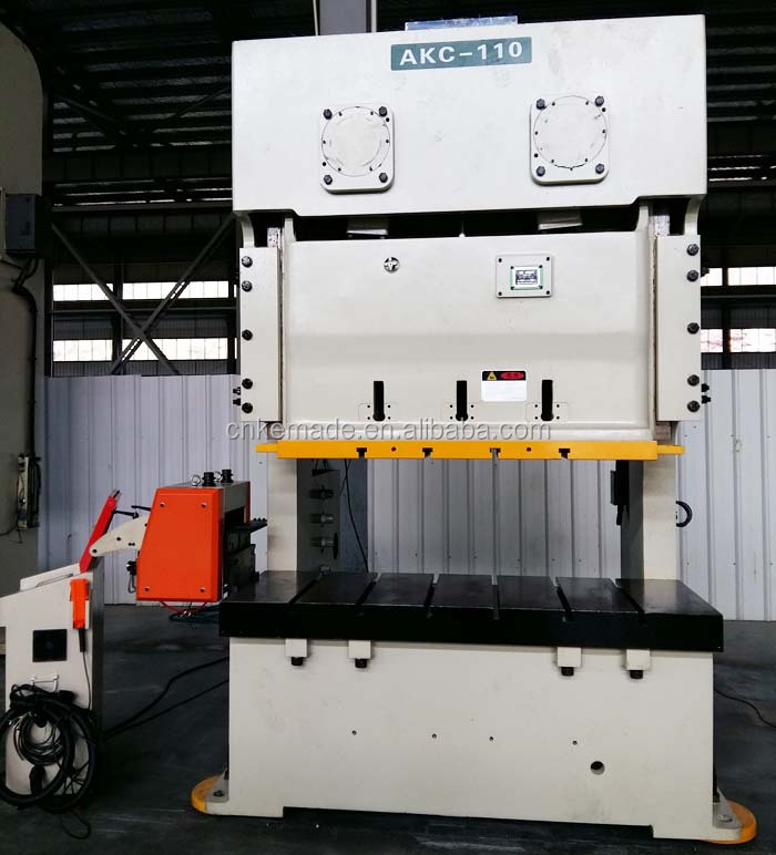 C Frame Double Crank 110 Ton O.B.I. Power Punch Press