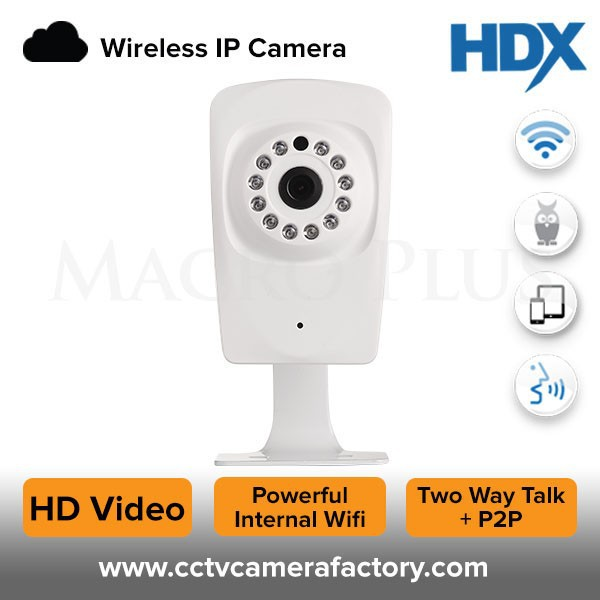Indoor wireless IP camera with 3.6mm lens