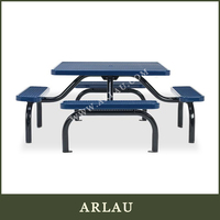 bbq table and chairs set