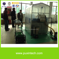 new product food waste disposer + water treatment small membrane biogas plant