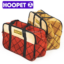 Hoopet Fashion foldable pet carrier bag portable pet carry bag