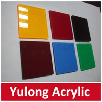 flexible colored acrylic sheet for bathroom wall panels