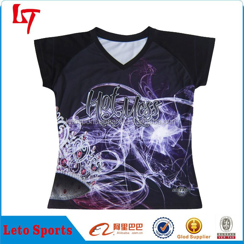 Hot Miss Crown OEM Gym Slim Fit T Shirt With New Design For Women