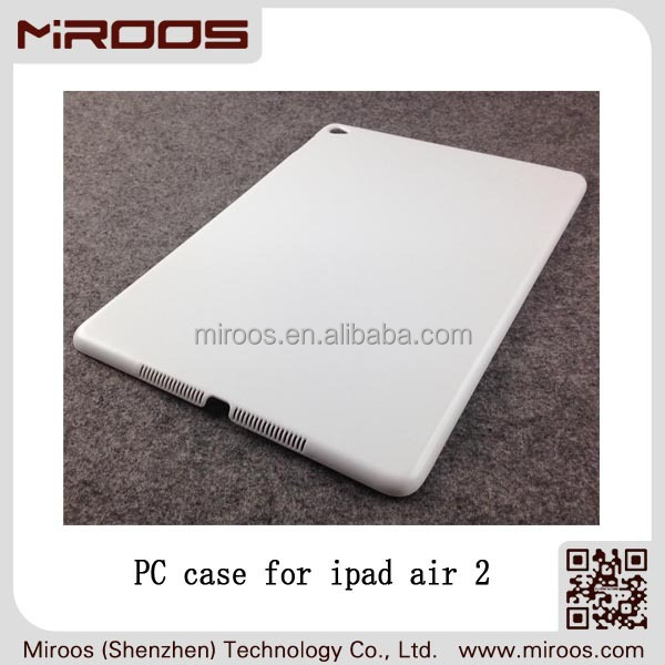 MIROOS wholesale hard PC cover for ipad air 2, for apple ipad air 2 case plastic,for ipad air 2 cover plastic