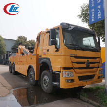 HOWO 12 Wheelers 20tons road recovery integrated tow truck