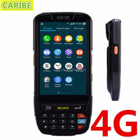 CARIBE PL-40L IP65 mobile phone rugged pda waterproof cell phone with4G GPS android 5.1 and 1d/2d barcode scanner