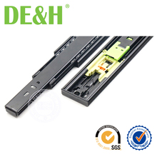 Foshan facory full extension push to open drawer slide
